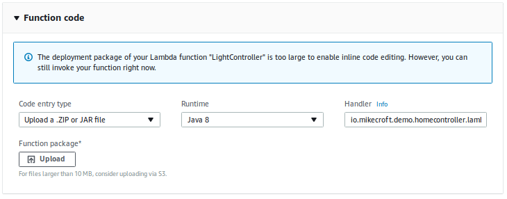 Creating a Basic AWS Lambda Function with Java